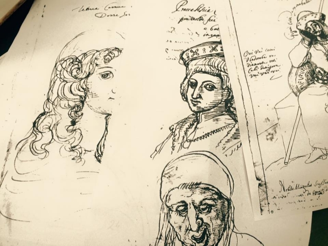 Italian Missionary's Pen-and-Ink Sketches Now in Tbilisi - Georgia