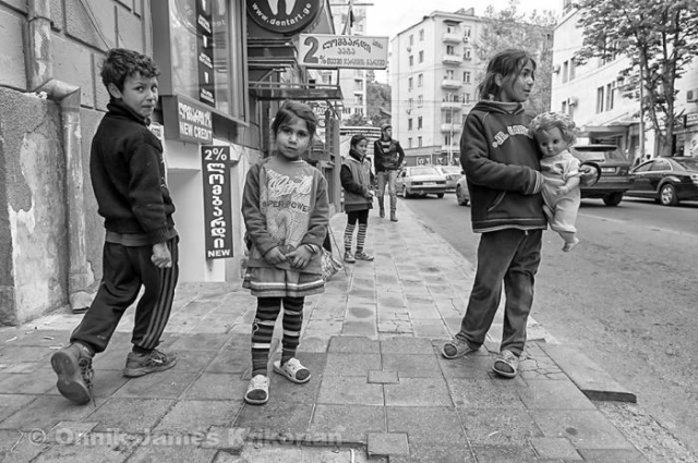 Kids Playing In The Streets Of Poland S