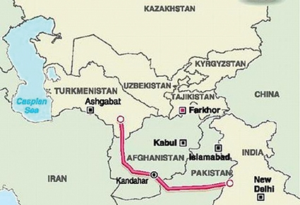 Kabul Launches Survey Work on TAPI Gas Pipeline Project