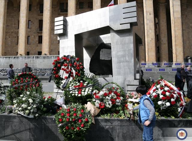 Georgians Remember April 9 Heroes