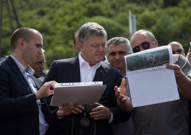 Georgian, Ukrainian Presidents Visit Occupation Line