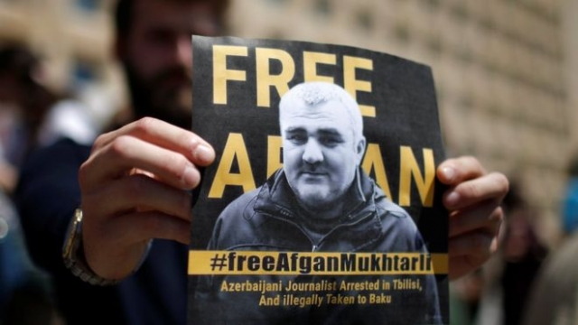 Azeri Journalist Afgan Mukhtarli's Pre-trial Detention Term Extended