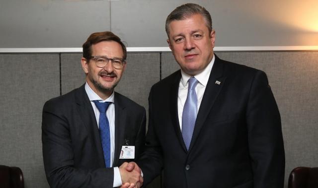 ملاقات-گیورگی-کویریکاشویلی-با-دبیرکل-سازمان-امنیت-و-همکاری-osce-اروپا