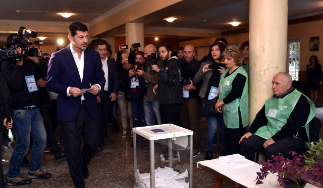 Berlusconi congratulates Kaladze on winning Tbilisi mayoral elections