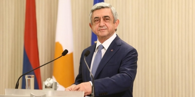 Armenia president to visit Russian Federation on December 26