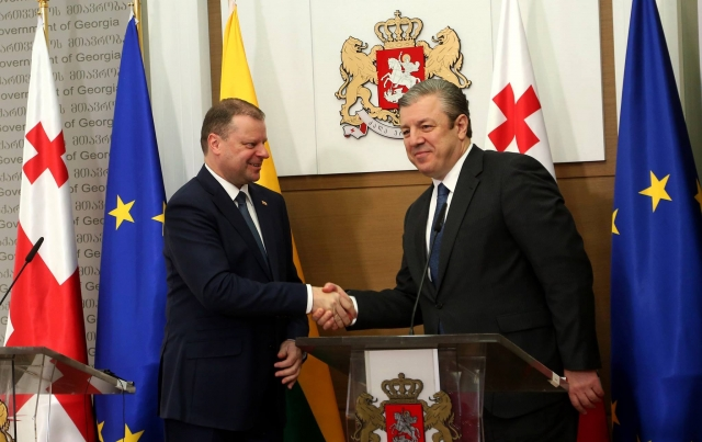 PM Skvernelis: Georgia Is Important Strategic Partner for Lithuania