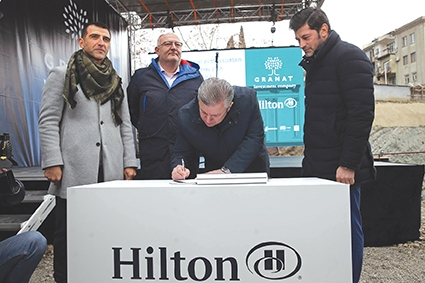Construction Of 5 Star Hilton Hotel Starts In Tbilisi Georgia