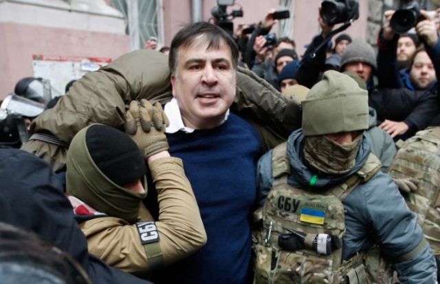 Ex-Georgian President Saakashvili 'Kidnapped' in Kiev — Madness Goes On