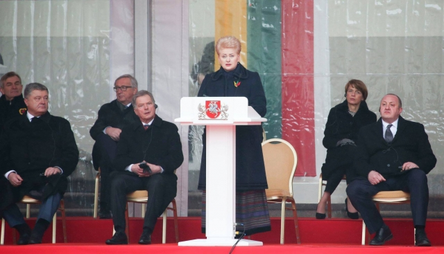 Lithuania Celebrates Centenary Of Independence
