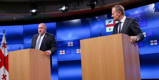 georgias relationship with the eu
