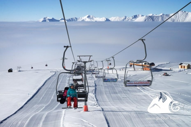Skiers flung off ski lift at Georgian resort
