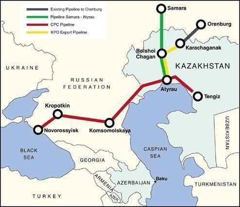 Transneft Receives Russian Share in the Caspian Pipeline