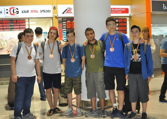 Team of Georgian Students Win 6 Medals at Int'l Mathematical