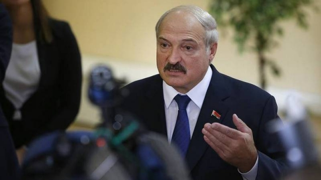 European Union sanctions on Lukashenko, son over Belarus crackdown